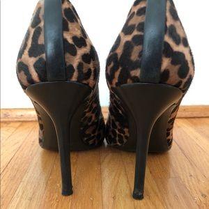 Stuart Weitzman Shoes - Stuart Weitzman Calf Hair Leopard Pumps Heels 7.5